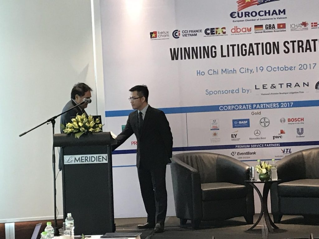 Event. Winning Litigation Strategy 3 dated 19 Oct, 2017